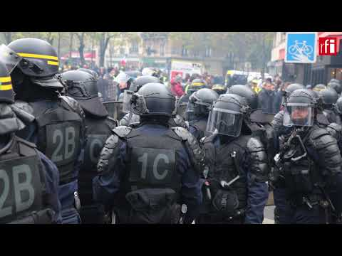 Unrest in Paris as Yellow Vests mark one year anniversary
