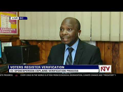 EC spokesperson explains verification process