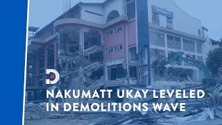 Ukay Mall demolished, despite owners' efforts