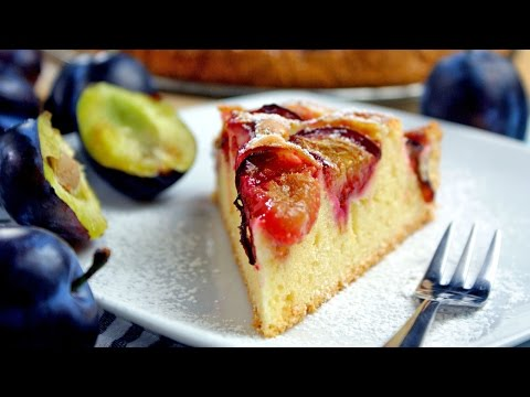 Ciche ciasto ze śliwkami | Smaczne-Przepisy.TV