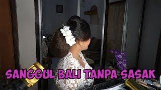 TUTORIAL SANGGUL BALI TANPA SASAK PART 3