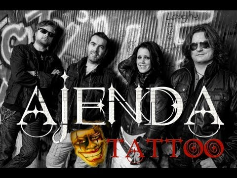 "Ajenda  ""Tattoo""  (from the full length recording Unrecognizable 2013."