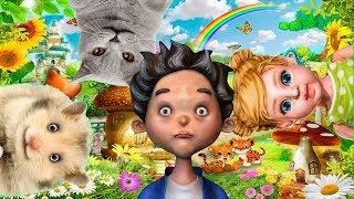 Тимпсики. Тимпка, Гомпка, Симпсик и Какойка. Английский язык для детей по мультфильмам.