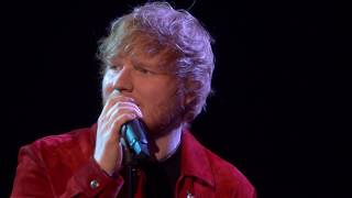 Ed Sheeran - Supermarket Flowers [Live from the BRITs 2018]