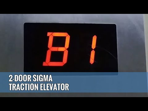 2-Door Sigma Traction Elevator (Lift) @ Poins Square, Lebak Bulus, Jakarta, Indonesia