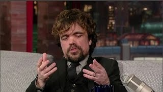 Peter Dinklage Interview - Late Night With David Letterman - 26th March, 2014