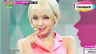 [Comeback Stage] AOA   Short Hair, 에이오에이   단발머리, Show Music Core 20140621