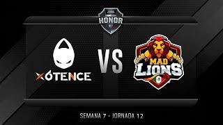 x6tence VS Mad Lions E.C. México | Jornada 12 | División de Honor 2019 - Apertura