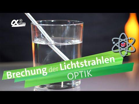 Brechung der Lichtstrahlen | alpha Lernen erklärt Physik