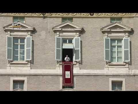 Angélus du 25 octobre 2020 à Rome