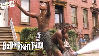 Do The Right Thing   Spike Lee Fire Hydrant Scene OFFICIAL HD VIDEO