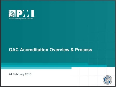 GAC Accreditation - Overview and Process