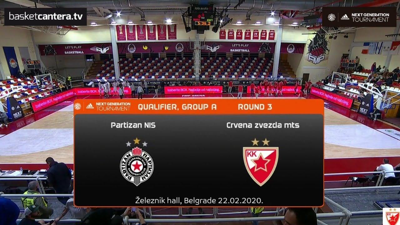 U18 PARTIZAN vs CRVENA ZVEZDA. Euroleague B. Adidas Nex Generation Tournament - Belgrado 2020
