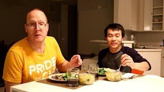 Bữa Cơm Việt Xứ Mỹ [5] Canh Bầu Nấu Tôm| Long Tran USA