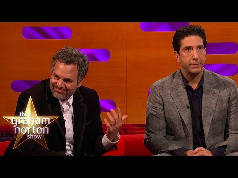 Mark Ruffalo a David Schwimmer o Přátelích - The Graham Norton Show