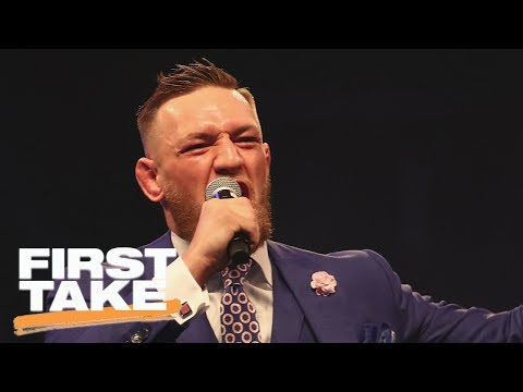 Conor McGregor Greatest Trash-Talker Of All Time? | First Take | ESPN