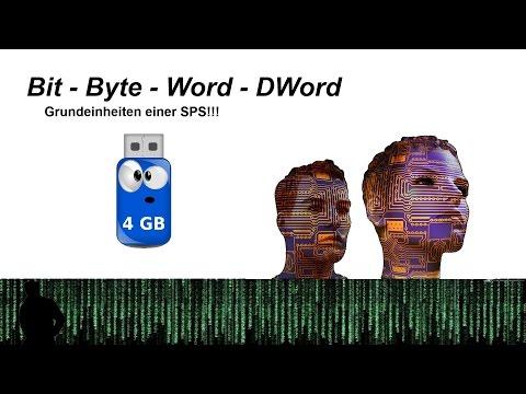 Bit und Byte Erklärung (Word,DWord) - SPS Tutorial Deutsch