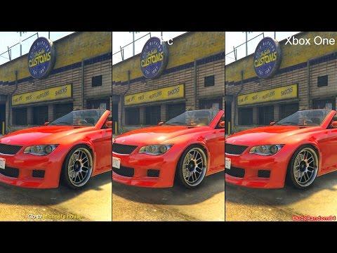 Grand Theft Auto 5 / GTA 5 – PS4 vs  Xbox One Graphics