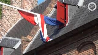 Vlaggen Halfstok Vanwege Vliegtuigcrash