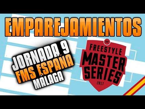 Los EMPAREJAMIENTOS de la JORNADA 8 en MÁLAGA - FMS ESPAÑA *PREDICCIÓN FIABLE*