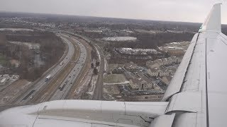 American Airlines Flight 4395 - DCA to CMH - Embraer ERJ-175 - Arrival (Landing on Runway 28L)