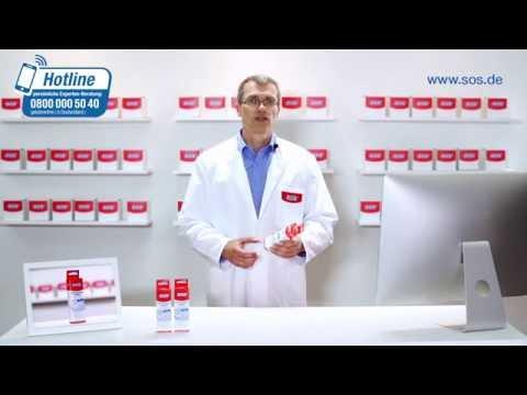 SOS Hämorroiden-Salbe zur Minderung von akuten und chronischen Entzündungssymptomen