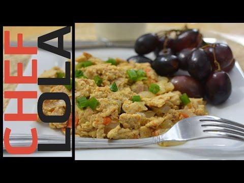 How To Make Scrambled Eggs – Nigerian Inspired – Chef Lola