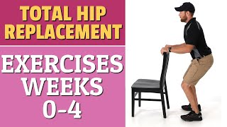 Total Hip Replacement - Exercises 0-4 Weeks After Surgery
