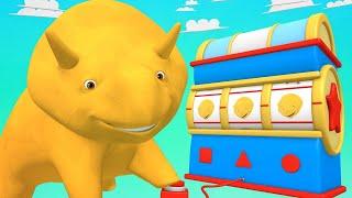 Учим цвета и запускаем воздушные змеи - Динозаврик Дино 👶 Обучающий мультфильм для детей