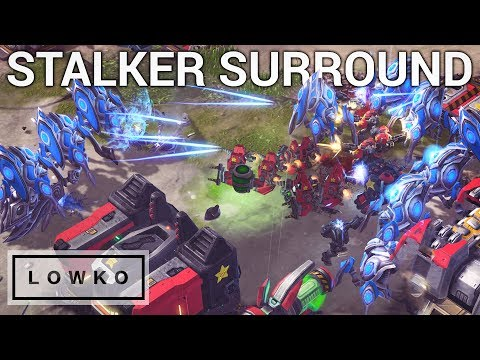 StarCraft 2: THE STALKER SURROUND!