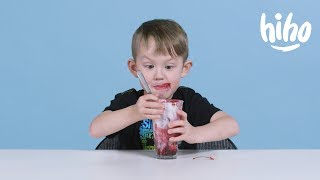 Kids Try British Food | Kids Try | HiHo Kids