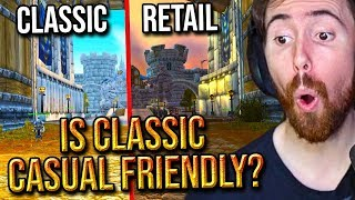 """Asmongold Reacts To """"Is WoW Classic Casual Friendly?"""" - MadSeasonShow"""