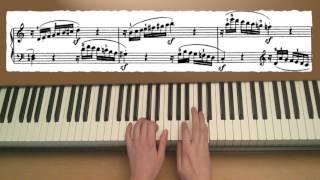 Mozart Sonata k 545 C Major 1st movement (Sonata No. 16)