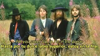 Old Brown Shoe - The Beatles (LYRICS/LETRA) [Original]