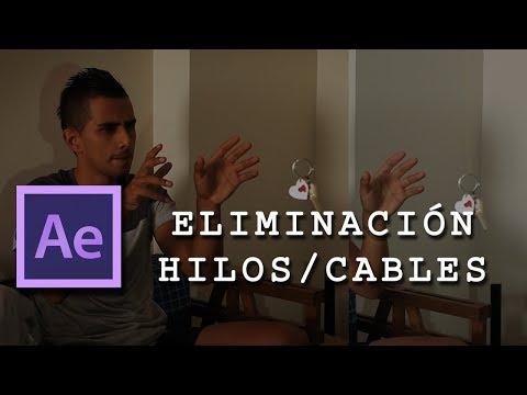 Eliminación de hilos o cables – After Effects al instante