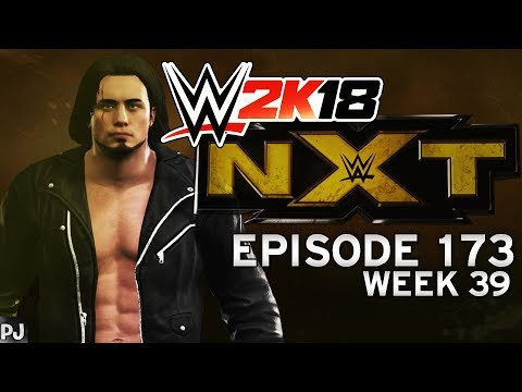 WWE 2K18 UNIVERSE MODE (EPISODE 173-WEEK 39) NXT - WHO YIELDS FIRST?