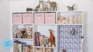 ASK MARTHA Creating Storage For Your Kids Bedrooms - Home How-To - Martha Stewart