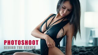 Glamour / Boudoir Photo Shoot - Behind The Scenes