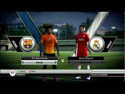FIFA 12 Barcelona 2012 / 2013 Kit | MTW