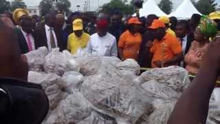 preview picture of video 'Cassava Yellow Root Lauching by Abia State Governor in Umuahia'