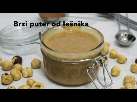 Puter od lešnika - VIDEO RECEPT