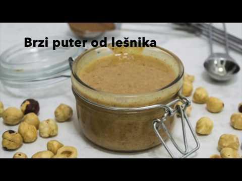 Puter od lešnika - VIDEO RECEPT