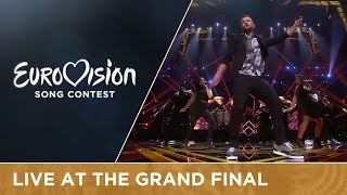 Justin Timberlake live at the 2016 Eurovision Song Contest