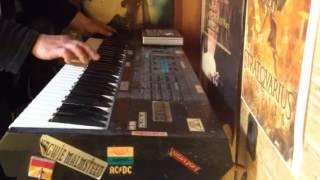 johansson the last viking alone( keyboard soro cover)