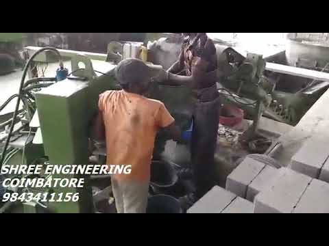 Automatic Ash Brick Making Machine