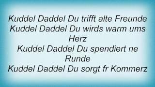 Achim Reichel - Kuddel Daddel Du Lyrics