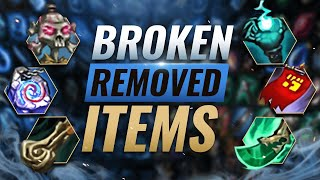 10 INSANELY BROKEN Items That Were REMOVED From League of Legends