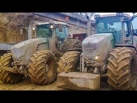 FENDT Traktoren häckseln Mais | Claas Jaguar 980 | Traktoren im Einsatz | AgrartechnikHD