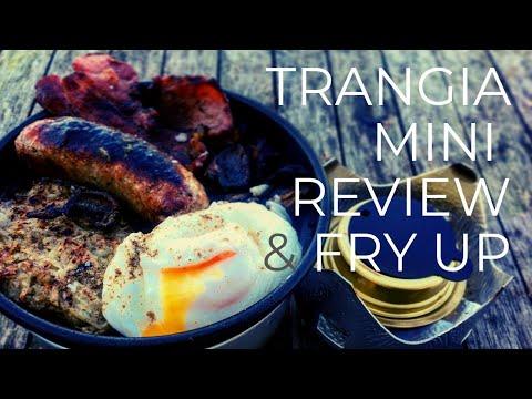 Trangia Mini Review and Fry-Up #trangia #campstove #trailcook