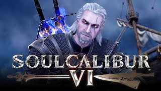 SOUL CALIBUR 6: Online Ranked Matches - BEST GUEST CHARACTER EVER? (Geralt Gameplay Online)